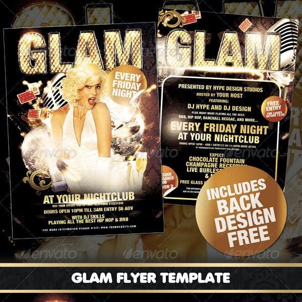 Glam Flyer Template