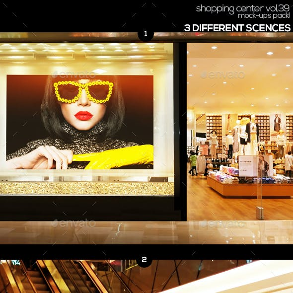 Shopping Center Vol.39 Mock Ups Pack