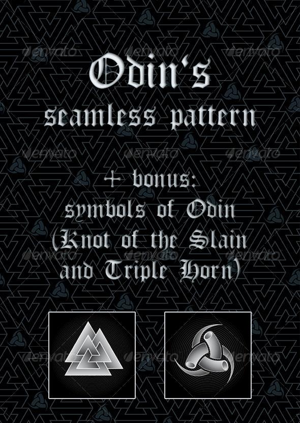 Odin`s tileable patter - Backgrounds Decorative