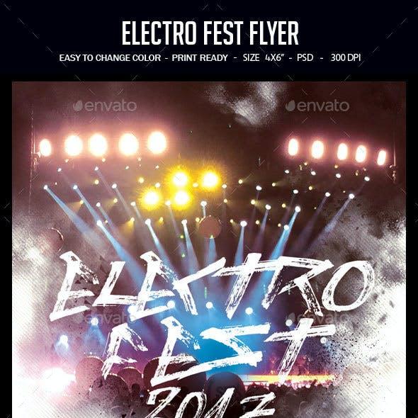 Electro Fest Flyer