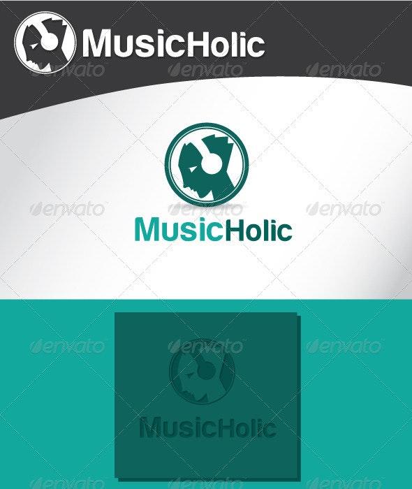 Music Holic Logo - Humans Logo Templates