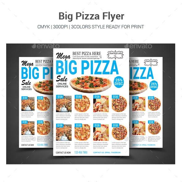 Big Pizza Flyer