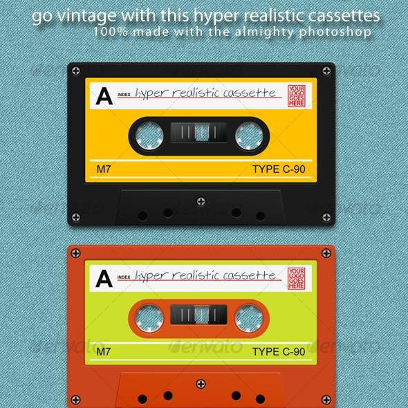 Hyper Realistic Cassette