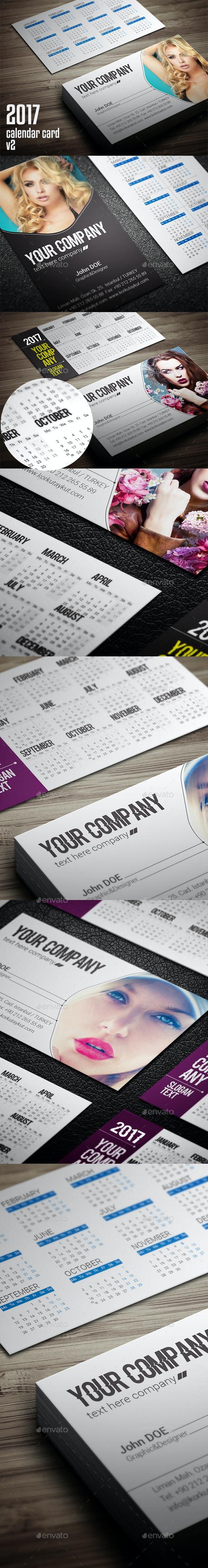 Calendar 2017 Business v2 - Calendars Stationery