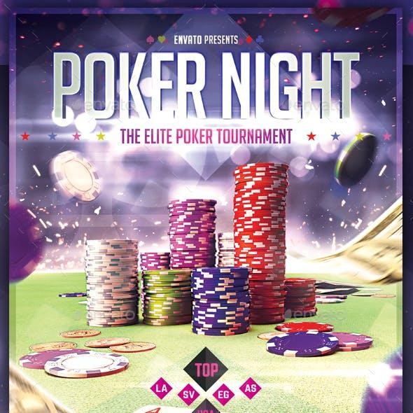 Poker Nights - Flyer Template