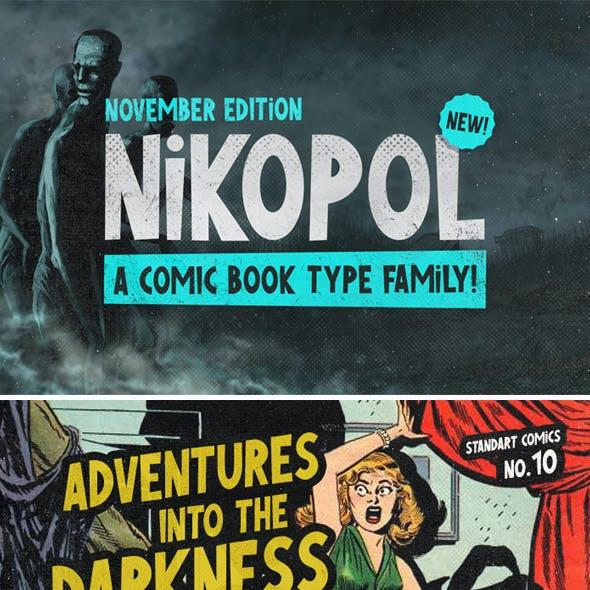 Nikopol Typeface