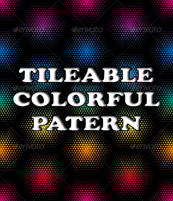 colorful halftone background  - Backgrounds Decorative