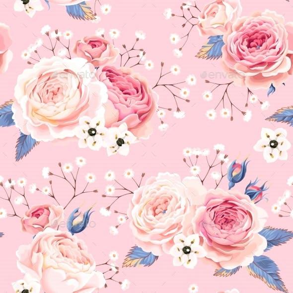 English Roses Seamless