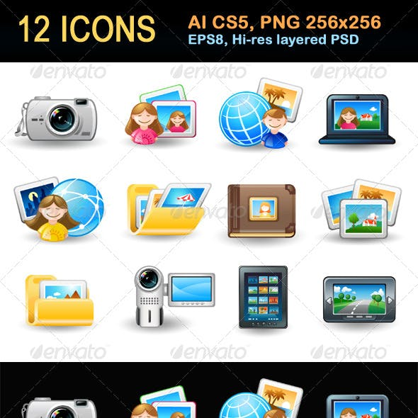 Icon Set - Pictures