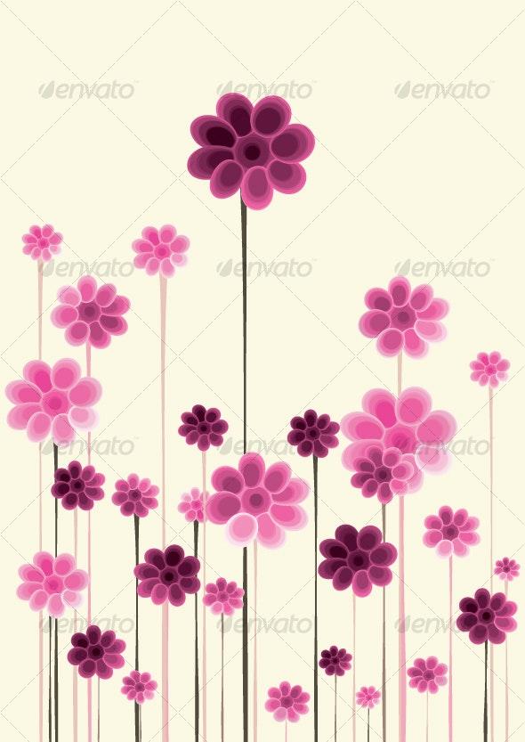 floral background designs - Backgrounds Decorative