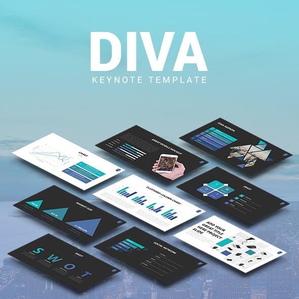 DIVA - Marketing Keynote Pitch Deck