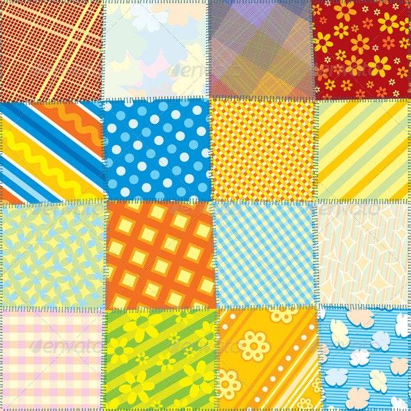 Seamless Fabric Texture - Patterns Decorative