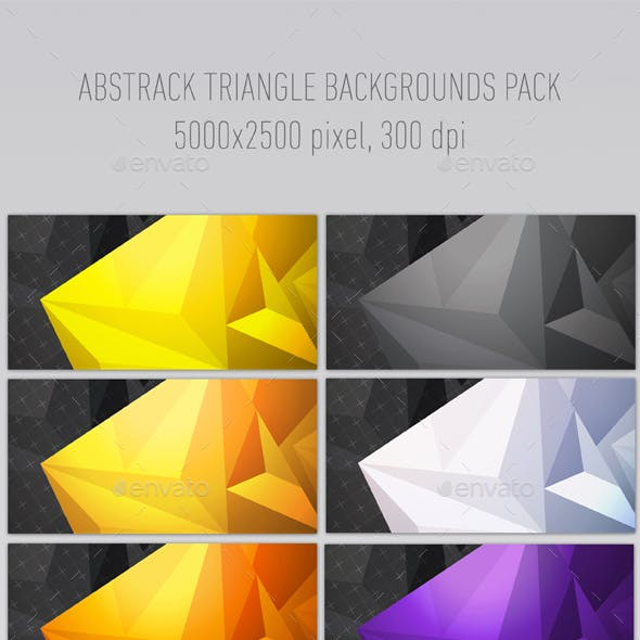 Triangle Multicolorful 8 Backgrounds