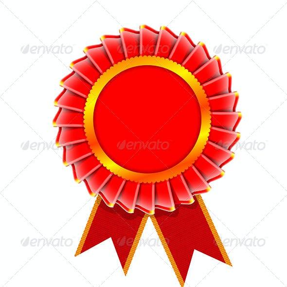 Award rosette set
