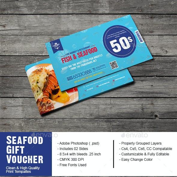 Seafood Restaurant Gift Voucher