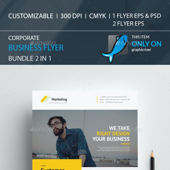 Flyer Bundle 2 in 1