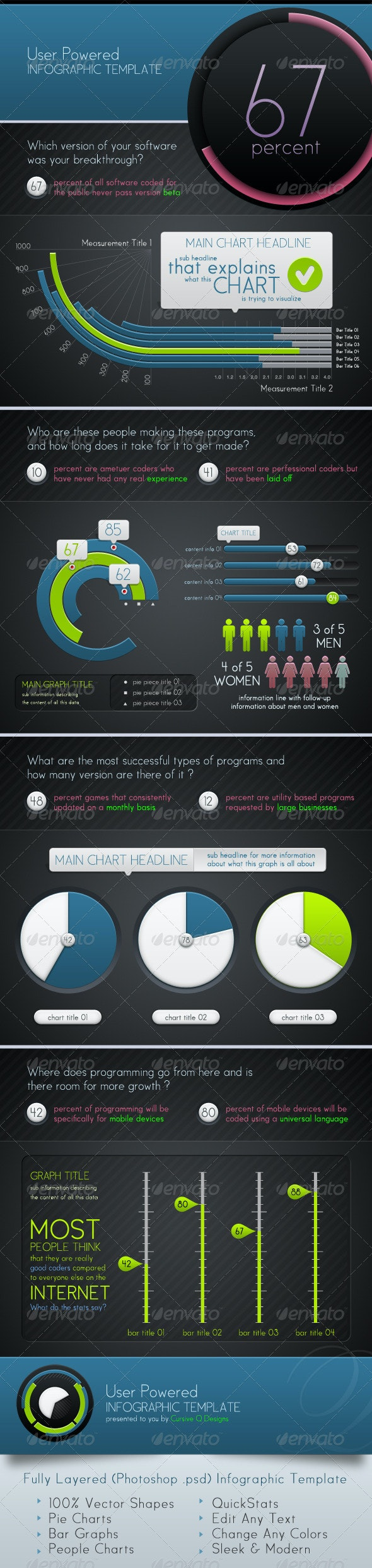 Infographic Template and Charts v5 - Infographics