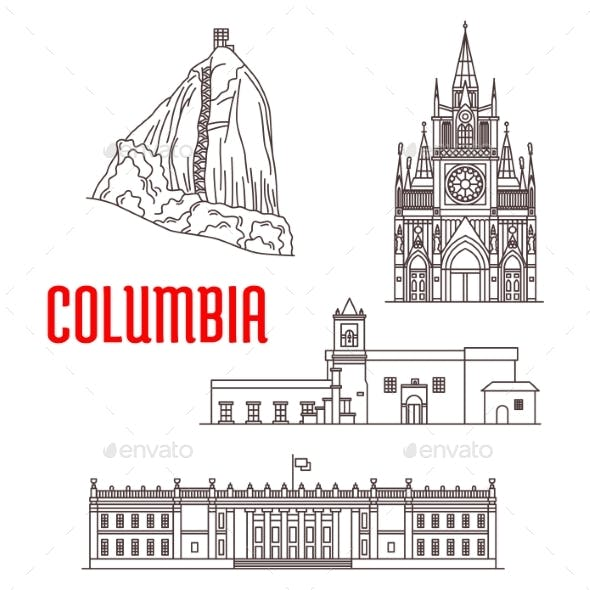 Tourist Landmarks and Architecture Of Colombia