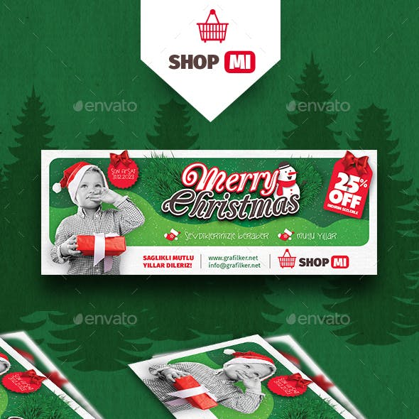 Christmas Shopping Cover Templates