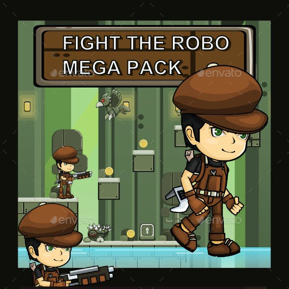 Adventure Pack 2 Fight the Robo