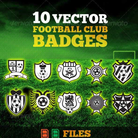 Football(Soccer) Club Badges Pack