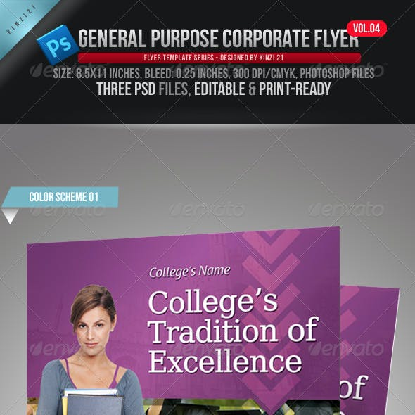 General Purpose Corporate Flyer Vol. 04