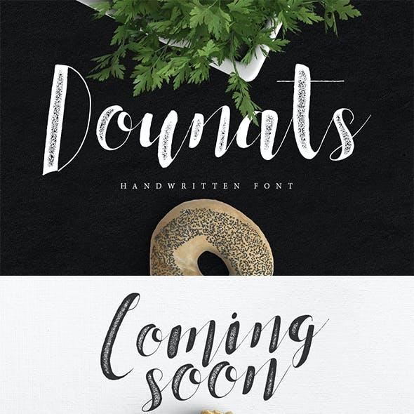 Dounats Typeface