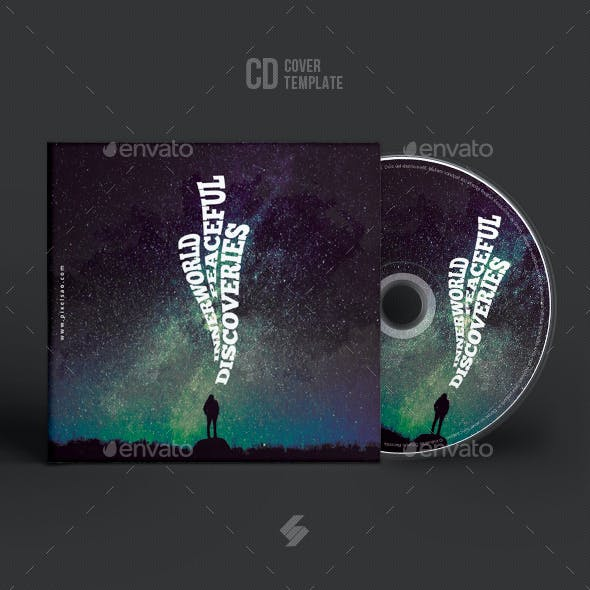 Inner World Discoveries - Creative CD Cover Artwork Template