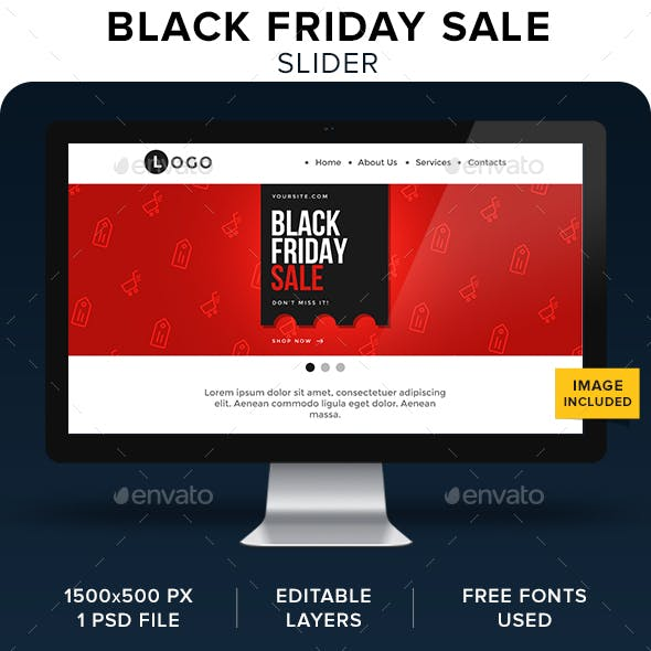 Black Friday Sale Slider