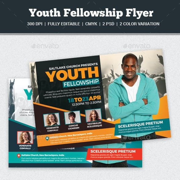 Youth Fellowship Flyer