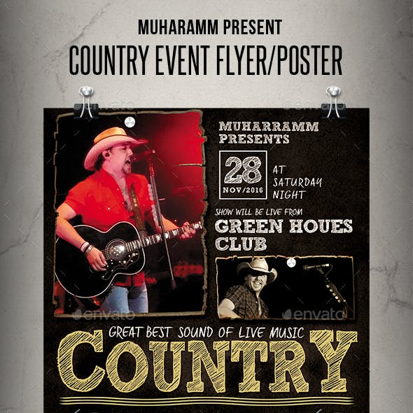 Country Event Flyer / Poster
