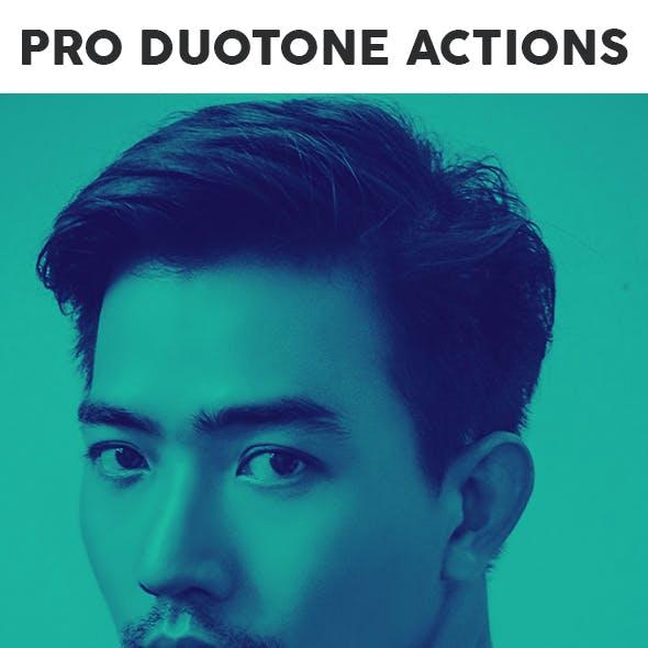 Pro DUOTONE Photoshop Actions