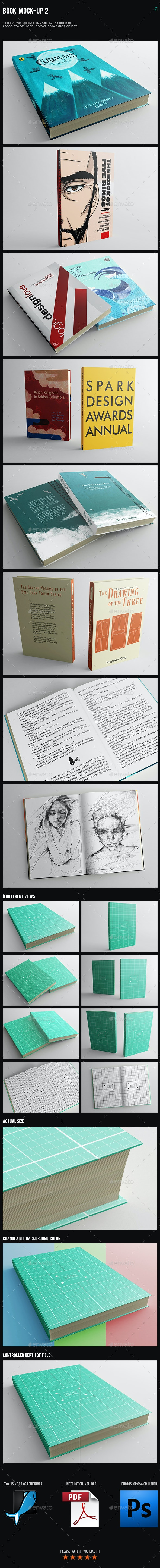Book Mock-Up 2 - Books Print