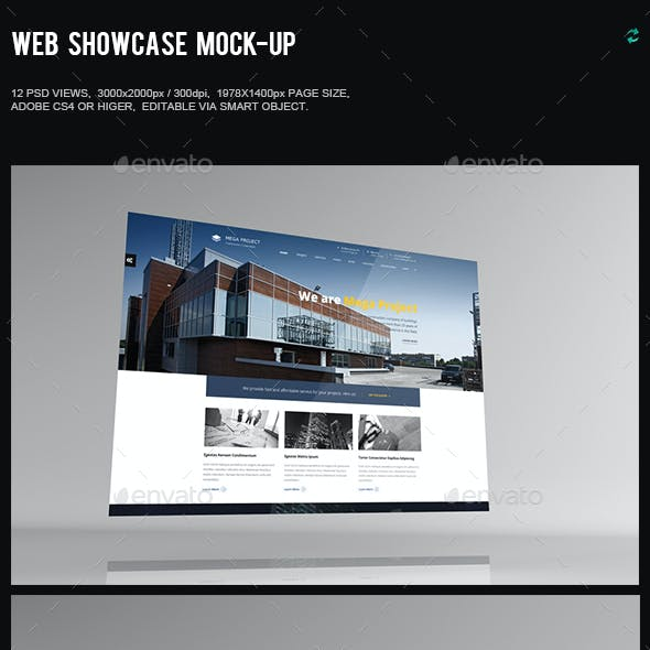 Web Showcase Mock-Up