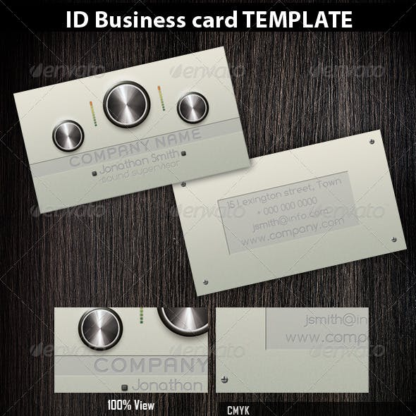 Dj/Producer/Musician Business Cards 2