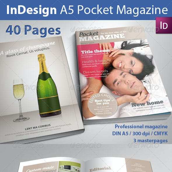 A5 Pocket Magazine