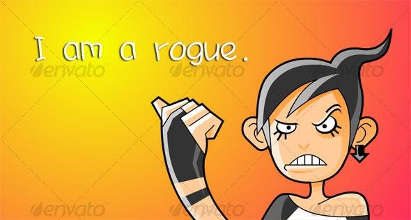 Rogue - Characters Vectors