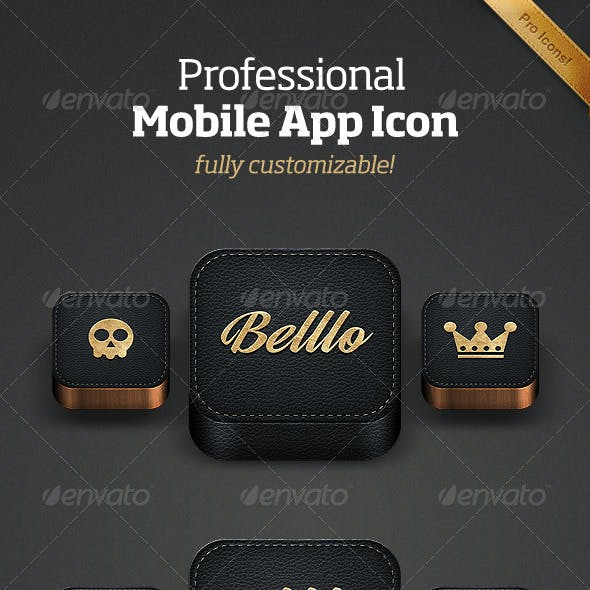 Professional Mobile App Icon