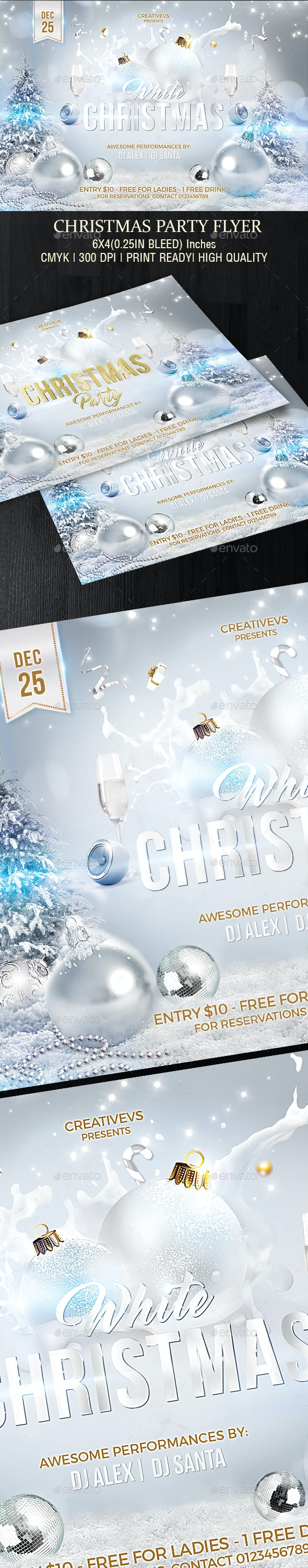 White Christmas Party - Clubs & Parties Events