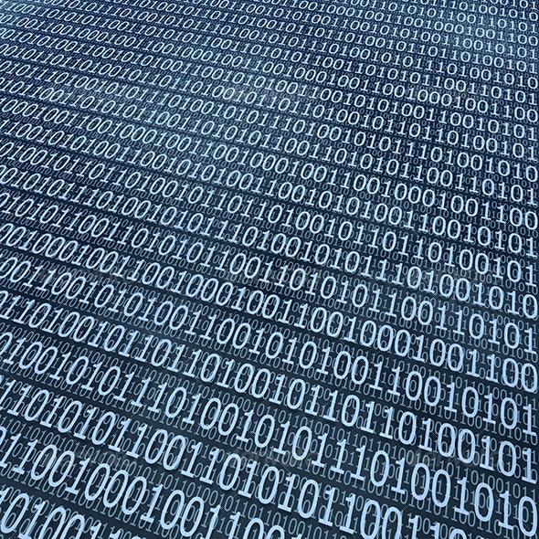 binary coding background - 3D Backgrounds