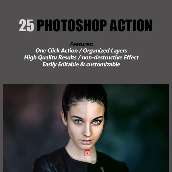 25 Photoshop Action