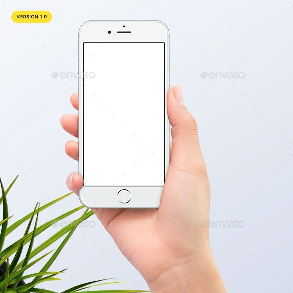 Hands Holding Phone 7