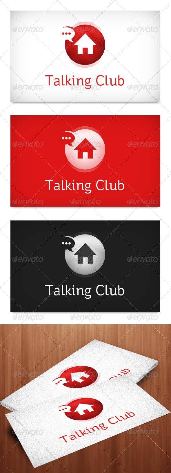 Talking Club Logo Template - Objects Logo Templates