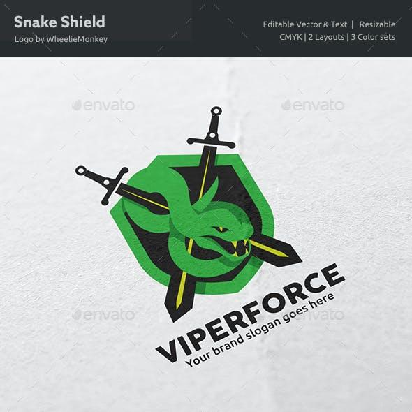 Snake Shield Logo