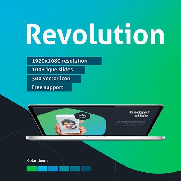 Revolution Powerpoint template