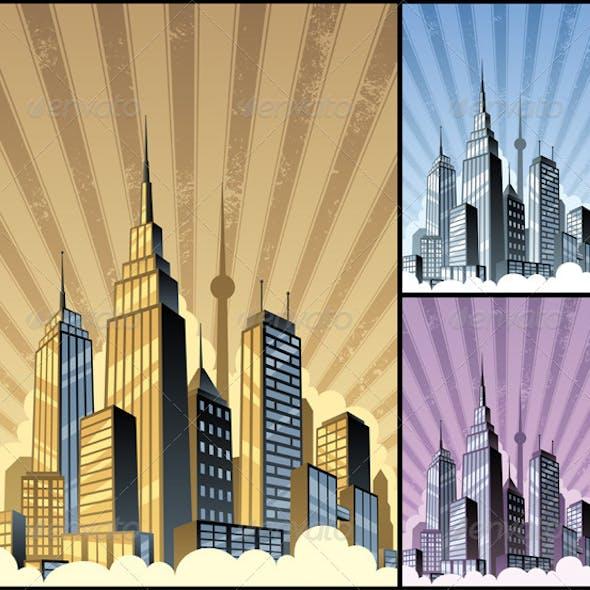 Cityscape Vertical