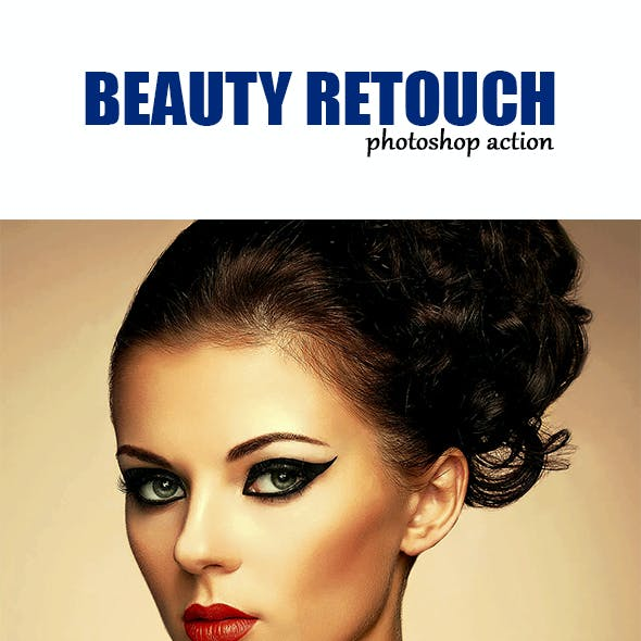Beauty Retouch PS Action