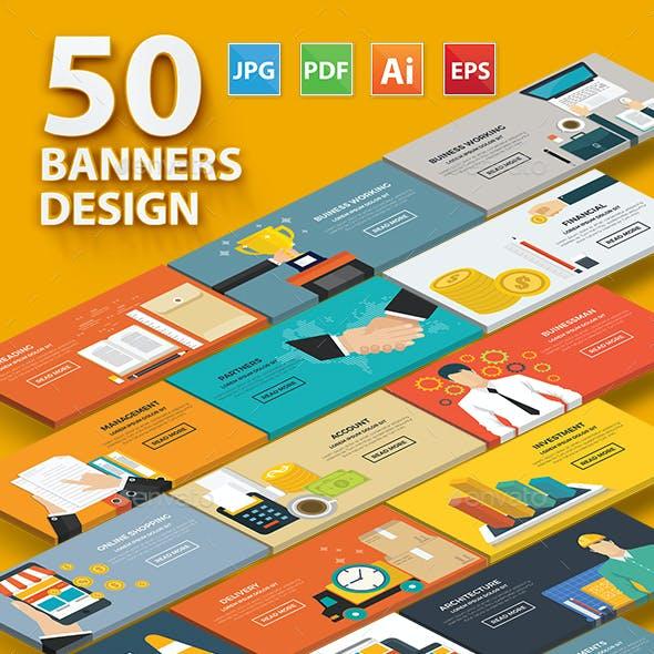 50 Banner Concept Design V.1