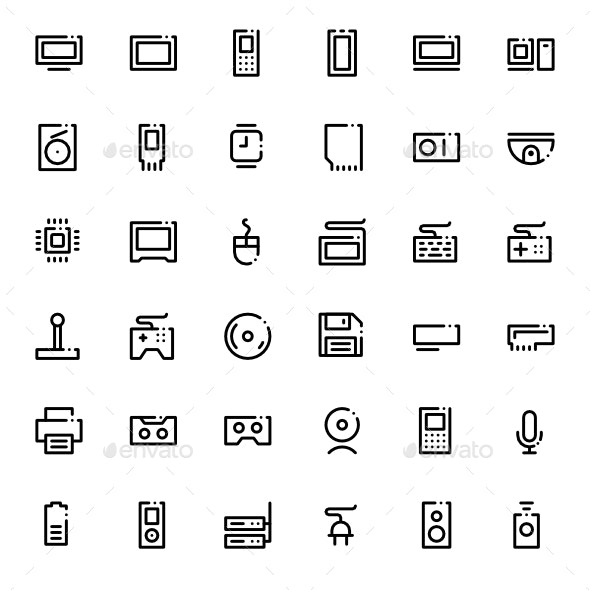 Technoline - Technology Icons