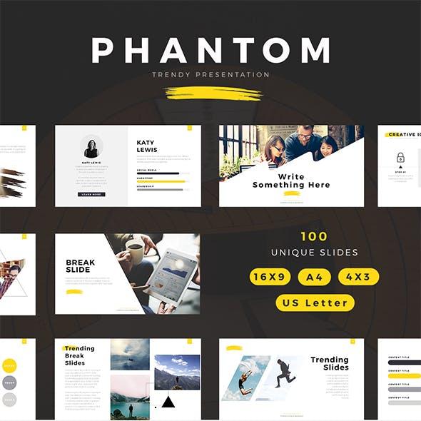 Phantom Modern Powerpoint Template